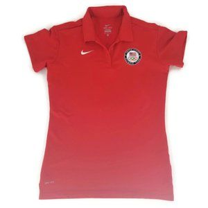 Nike Dri Fit Shirt Womens Athletic Med Dry Top